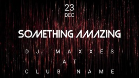 Something Amazing - Concert Event Flyer