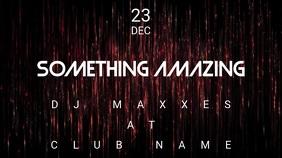 Something Amazing - Concert Event Flyer