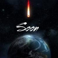 Soon Earth Clash short song video cover ปกอัลบั้ม template