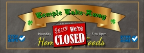 Sorry We're Closed Facebook Banner