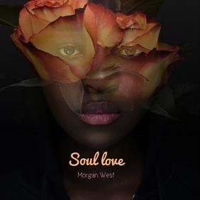Soul Love Album cover Portada de Álbum template