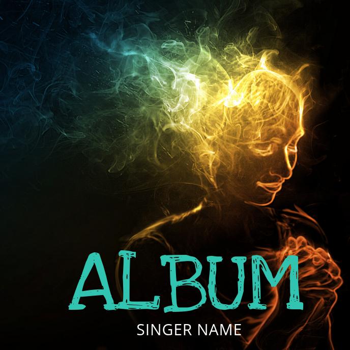 Soul Music Album Cover Template