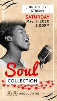 Soul R&B Concert Stream Online Instagram Stor