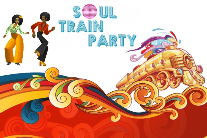 Soul Train Party Template Postermywall