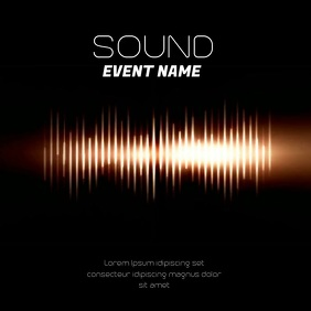 SOUND WAVES VIDEO TEMPLATE