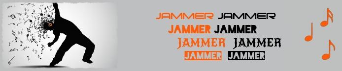 Soundcloud Banner Music DJ Soundcloud-banier template