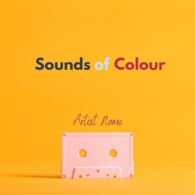 Sounds Album Cover colourful