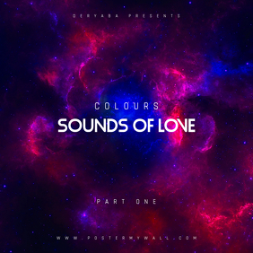 Sounds of love part 1 CD Cover Template