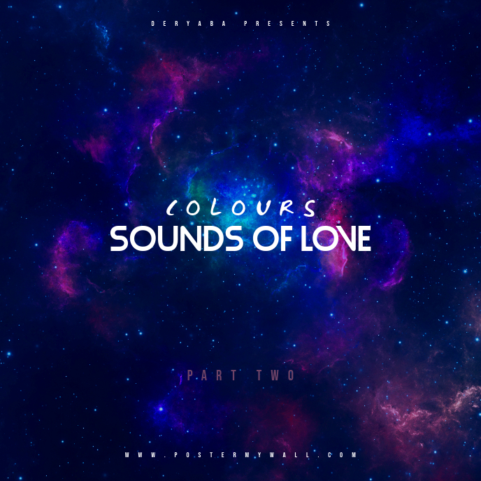 Sounds of love part 2 CD Cover Template