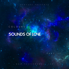 Sounds of love part 3 CD Cover Template