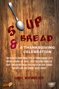 Soup and Bread Event