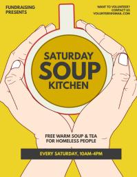 Soup Kitchen Flyer Template
