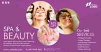 Spa & Beauty Care Ad Gambar Bersama Facebook template