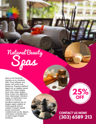 Spa & Beauty Flyer Template