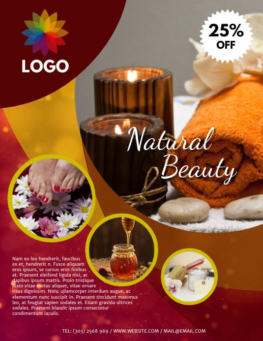 Spa & Beauty Flyer Template