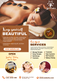 Spa and Salon Flyer Template