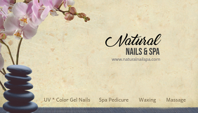 spa business card