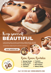 Spa Center Flyer Template