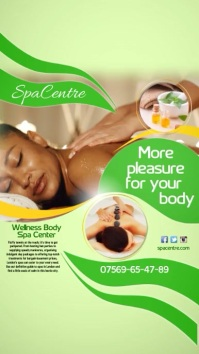 Spa Centre Video Template