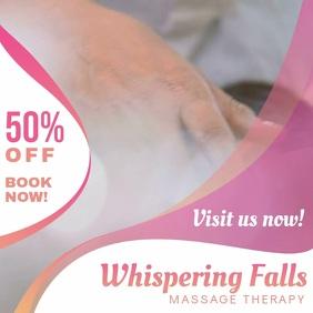 Spa Massage Parlor Square Video Ad