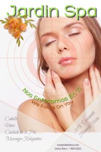Spa Salon de belleza/Massage/Relax/Piel
