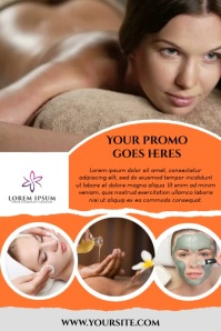SPA SALON Poster template