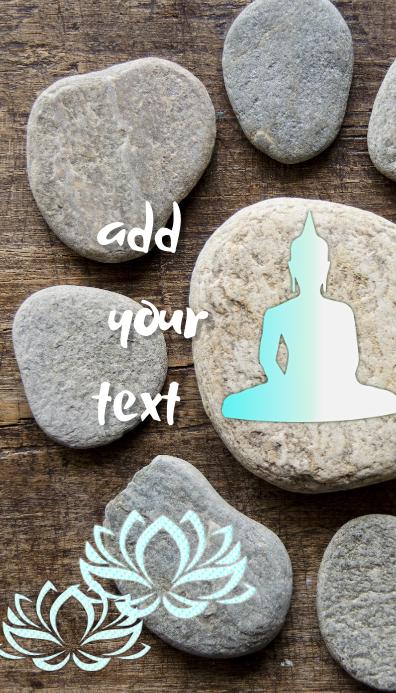 spa yoga teacher yoga studion name card