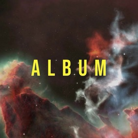 Space album cover video