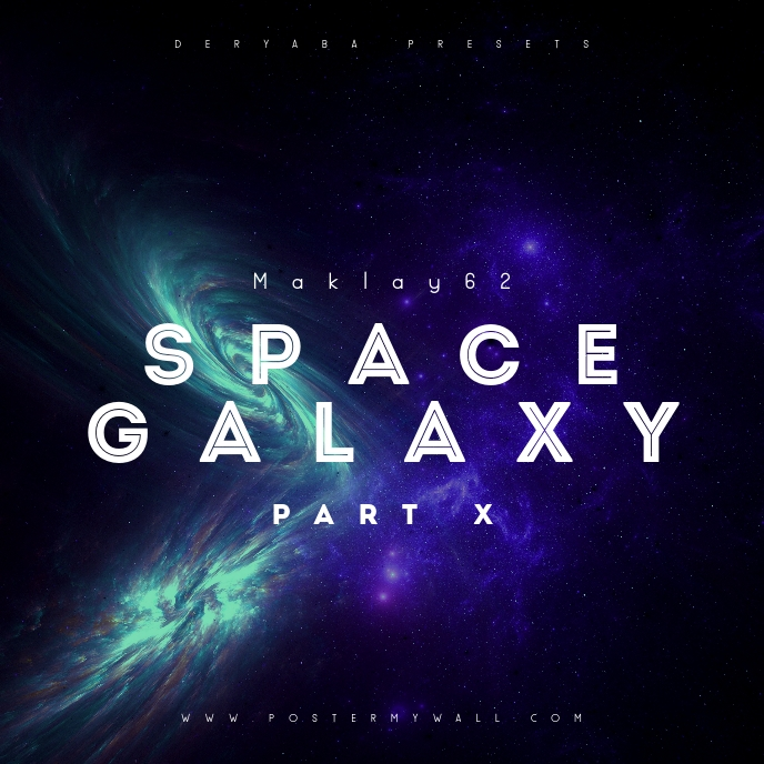 Space Galaxy Cosmos 10 Music CD Cover Art