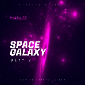 Space Galaxy Cosmos 5 Music CD Cover Art