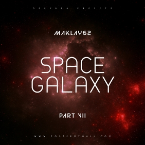 Space Galaxy Cosmos 7 Music CD Cover Art