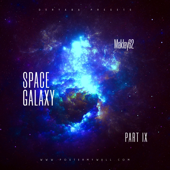 Space Galaxy Cosmos 9 Music CD Cover Art