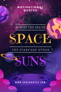 Space Quote Tumblr Graphic
