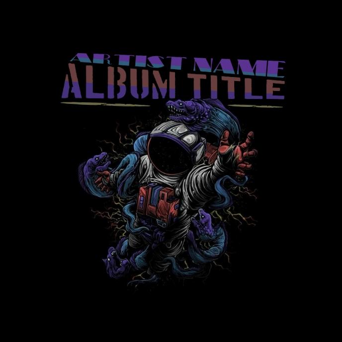 SPACEMAN ART ALBUM COVER