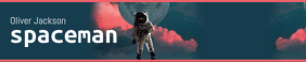 Spaceman Themed Soundcloud Banner