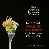Spaghetti Dinner Night Fundraiser Instagram