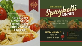 Spaghetti Dinner Twitter Post