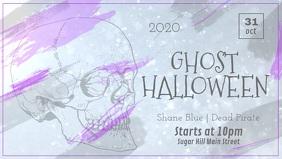 Sparkly Halloween Facebook Cover Video