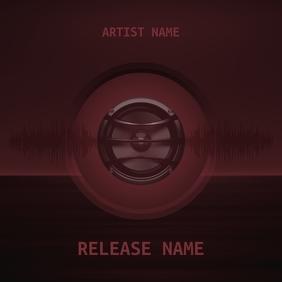Speaker Beats Red Mixtape CD Cover