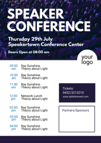 Speaker conference Time table planner Event