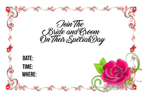 Special Day Wedding Invitation