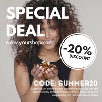 Special Deal Promotion Template Discount Ad Instagram-bericht
