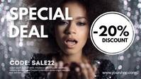 Special Deal Promotion Template Discount Ad Ikhava Yevidiyo ye-Facebook (16:9)