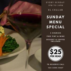 Special Deal Restaurant Instagram Template