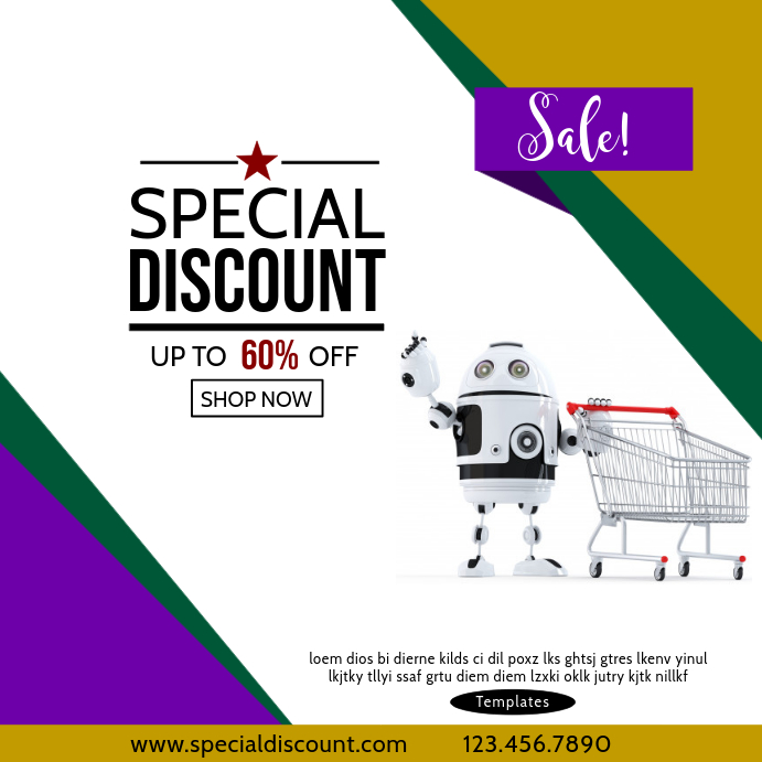 Special Discount Sale