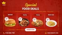 Special Food Deals template