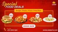 Special Food Deals Pos Twitter template