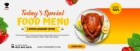 special menu Фотография обложки профиля Facebook template