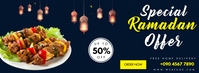 SPECIAL MENU RAMADAN OFFER Facebook Cover Photo template