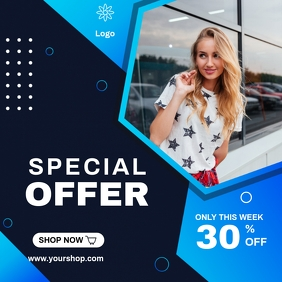 SPECIAL OFFER BANNER Instagram Post template